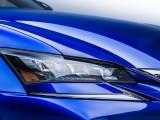 «Хищная» передняя оптика Lexus GS F 2016 года