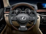 Трехспицевый мультифункциональный руль Lexus LX 450d