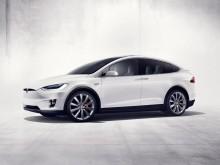 Фото кроссовера Tesla Model X 2016-2017 года