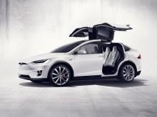 Оригинальные боковые дверья Тесла Модель Х 2016-2017