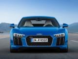 Audi R8 2016-2017 вид спереди