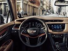 Дизайн салона Cadillac XT5 2016-2017 фото
