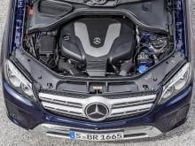 Дизельный мотор Mercedes GLS 350d фото