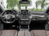 Оформление интерьера Mercedes GLS 63 AMG