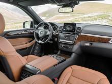 Роскошный интерьер Mercedes GLS 2016-2017 фото