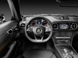 Эргономика водительского места Mercedes-Benz SL 2016-2017 года
