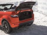 Багажное отделение Range Rover Evoque кабриолет