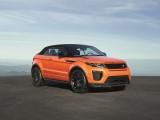 Фото Range Rover Evoque Convertible с поднятым верхом