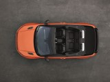 Кабриолет Range Rover Evoque - вид сверху