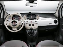 Фото салона нового Fiat 500 2016-2017