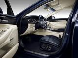 Оформление интерьера премиального седана Genesis G90 2016-2017