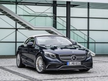 Mercedes S65 AMG Cabriolet 2016-2017 фото