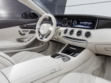 Отделка интерьера Mercedes S 65 AMG кабриолет 2016-2017 фото