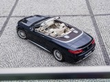 Mercedes S65 AMG Cabriolet вид сверху фото