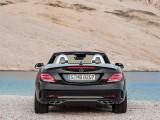 Mercedes SLC AMG 43 - фото зоны кормы