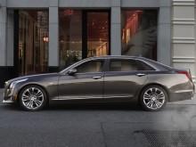 Представительский седан Cadillac CT6 2016-2017 фото вид сбоку