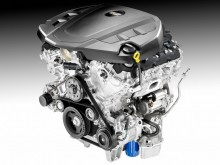 Мотор V6 седана Cadillac CT6 2016-2017 фото