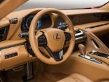 Отделка интерьера Lexus LC 500 фото