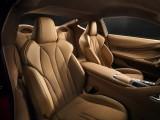 Lexus LC 500 форма кресел