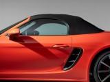 Porsche 718 Boxster - поднятый мягкий верх