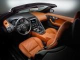 Оформление интерьера кабриолета Jaguar F-Type SVR 2016-2017 фото