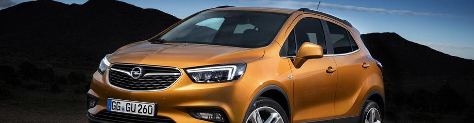 Opel Mokka X 2016-2017