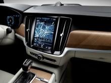 Экран мультимедийной системы Volvo V90