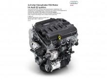 Топовый 2.0-литровый мотор TDI мощность 190 л.с.
