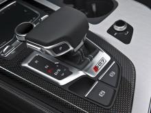 Рычаг управления АКПП в новом Audi SQ7 2016-2017