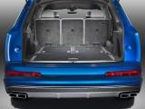 Багажник Audi SQ7 TDI со сложенным третьим рядом