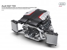 4-литровый мотор Audi SQ7 2016-2017 фото