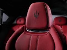 Обивка сидений Maserati Levante 2017 фото
