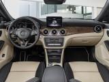 Универсал Mercedes CLA цветовая схема интерьера