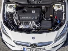 Мотор под капотом Mercedes CLA 2016-2017 фото