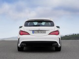 Универсал Mercedes-AMG CLA45 вид сзади фото