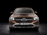 Mercedes-Benz GLC Coupe 2016-2017 вид спереди