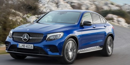 Mercedes-Benz GLC Coupe 2016-2017