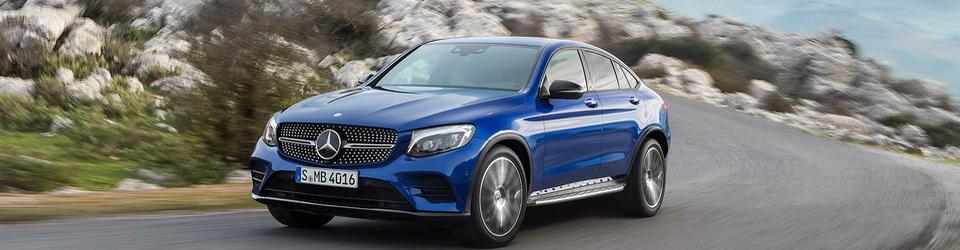 Mercedes-Benz GLC Coupe 2016-2017