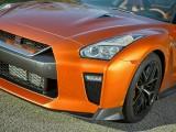 Оформление носовой части кузова Nissan GTR после рестайлинга