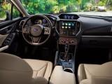 Передняя часть салона Subaru Impreza 2017-2018 фото