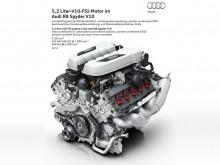 5.2-литровый V10 нового Audi R8 Spyder