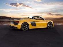 Внешний дизайн родстера Audi R8 Spyder V10 фото