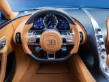Место водителя в новом Bugatti Chiron 2016-2017 фото