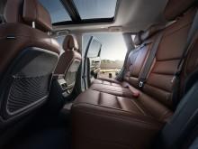 Новый Renault Koleos задние сиденья