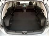 Багажник Субару XV со сложенными спинками