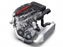 Новый двигатель Audi TT RS