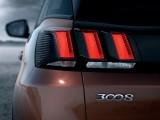 Оригинальные задние фонари Peugeot 3008 2016-2017