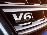 Шильдик V6 на фальшрадиаторе