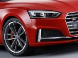 Audi S5 Coupe 2016-2017 бампер и оптика