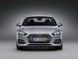 Audi A5 Coupe 2016-2017 вид спереди